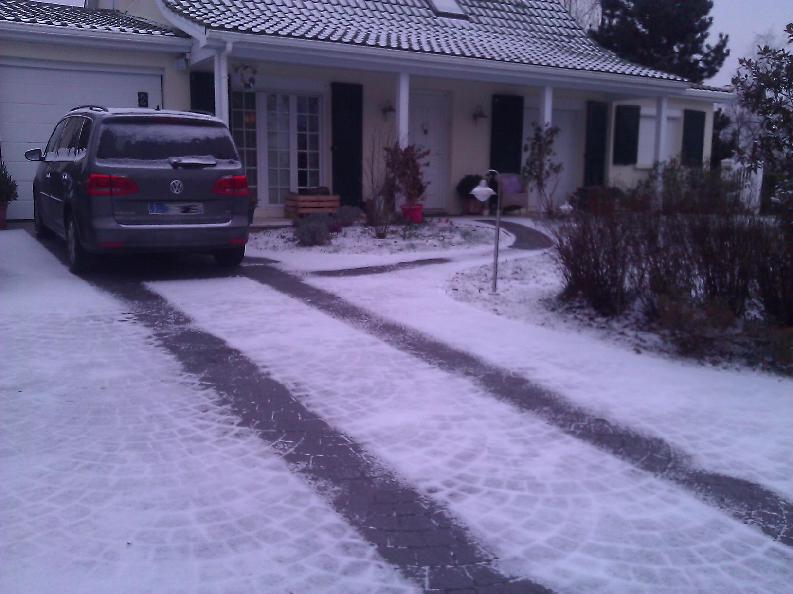 La maison du cable chauffant - Tapis exterieur chauffant ...